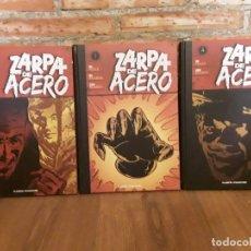 Cómics: 3 TOMOS ZARPA DE ACERO 4 , 2 Y 1 DIFÍCILES Y DESCATALOGADOS. Lote 176273920