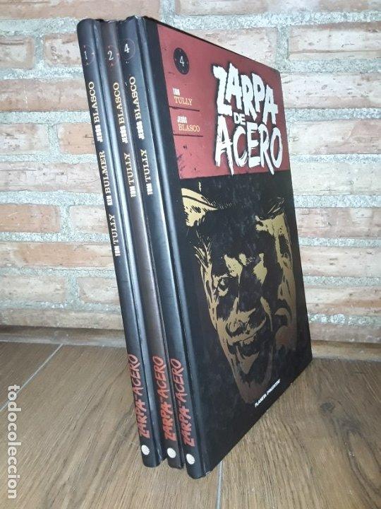 Cómics: 3 TOMOS ZARPA DE ACERO 4 , 2 Y 1 DIFÍCILES Y DESCATALOGADOS - Foto 2 - 176273920