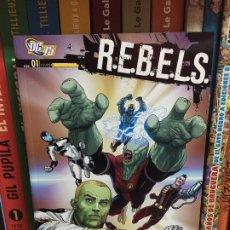 Cómics: R.E.B.E.L.S. Nº 1, LA LLEGADA DE STARRO, DE ANDY CLARKE Y TONY BEDARD. Lote 176288658