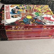 Cómics: CLÁSICOS DC: NUEVOS TITANES / LOTE CON LOS NÚMEROS: 1, 2, 3, 4, 5, 6, 7, 8, 9, 10 / PLANETA. Lote 192338251