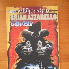 Cómics: EL DIABLO - BRIAN AZZARELLO - VERTIGO VOICES - PLANETA (GF). Lote 176900443