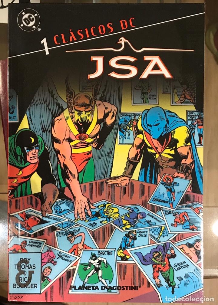 JSA CLÁSICOS DC NÚMERO 1 (Tebeos y Comics - Planeta)