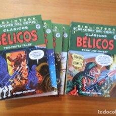 Cómics: BIBLIOTECA GRANDES DEL COMIC - CLASICOS BELICOS - COMPLETA - 7 NUMEROS - PLANETA (BQ). Lote 176995729