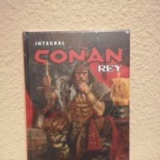 Cómics: INTEGRAL CONAN REY TRUMAN GIORELLO ¡¡¡AGOTADO Y PRECINTADO!!!. Lote 177674290