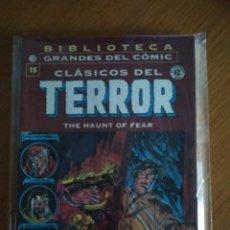 Cómics: CLASICOS DEL TERROR 15 BIBLIOTECA GRANDES DEL COMIC PLANETA THE HAUNT OF FEAR EC NO FORUM NO PANINI. Lote 177738460