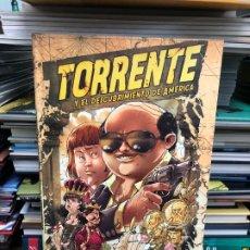 Cómics: TORRENTE Y EL DESCUBRIMIENTO DE AMÉRICA - ENRIC REBOLLO - PLANETA D'AGOSTINI. Lote 178020054