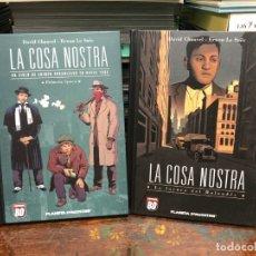 Cómics: LA COSA NOSTRA - TOMO 1 Y 3 - ESPECIAL BD PLANETA D'AGOSTINI. Lote 178131832