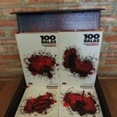 Cómics: 100 BALAS COMPLETA 4 TOMOS INTEGRALES DE LUJO IMPECABLES. Lote 178216876