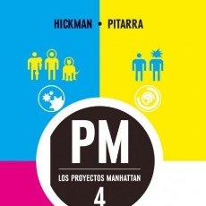 Cómics: LOS PROYECTOS MANHATTAN Nº 4 (HICKMAN / PITARRA) PLANETA - IMPECABLE - OFI15T. Lote 178255807