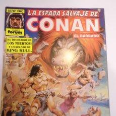 Cómics: LA ESPADA SALVAJE DE CONAN EL BARBARO - NUM 132 - PRIMERA EDICION. Lote 178353388