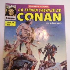 Cómics: LA ESPADA SALVAJE DE CONAN EL BARBARO - NUM 33 - SEGUNDA EDICION. Lote 178353813