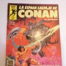 Cómics: LA ESPADA SALVAJE DE CONAN EL BARBARO - NUM 30 - PRIMERA EDICION. Lote 178354812