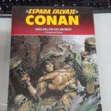 Cómics: LA ESPADA SALVAJE DE CONAN Nº 88 : DIAS DEL FIN DEL MUNDO - COLECCIONABLE CONAN EL BARBARO. Lote 178625318
