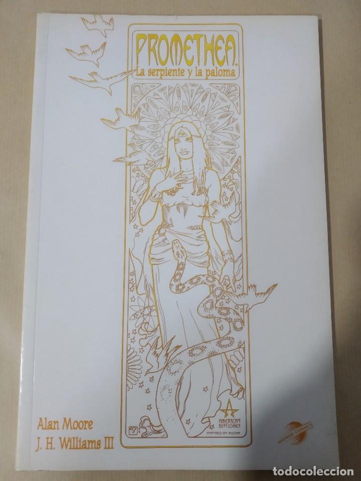 PROMETHEA Nº 3 -LA SERPIENTE Y LA PALOMA- WORLD CÓMICS, PLANETA AGOSTINI (Tebeos y Comics - Planeta)