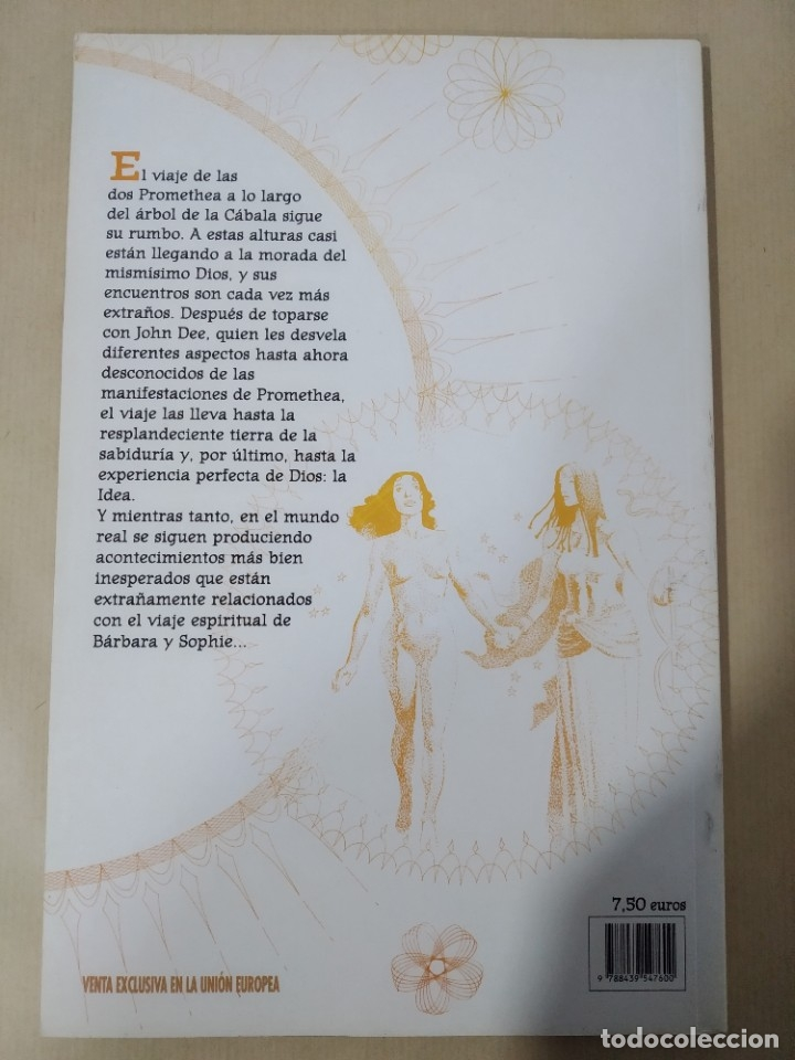 Cómics: PROMETHEA Nº 3 -LA SERPIENTE Y LA PALOMA- WORLD CÓMICS, PLANETA AGOSTINI - Foto 2 - 178645258