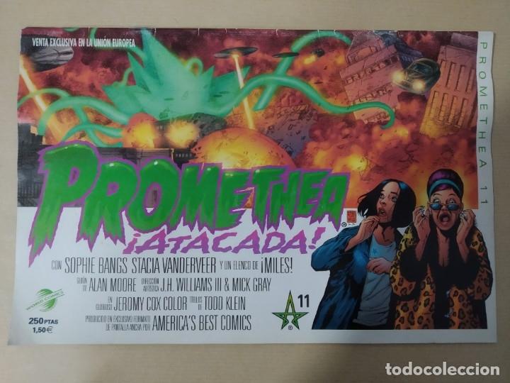 PROMETHEA -EL TEMPLO LA QUIERE MUERTA Nº 2- / PROMETHEA -ATACADA Nº 11- WORLD CÓMICS (Tebeos y Comics - Planeta)