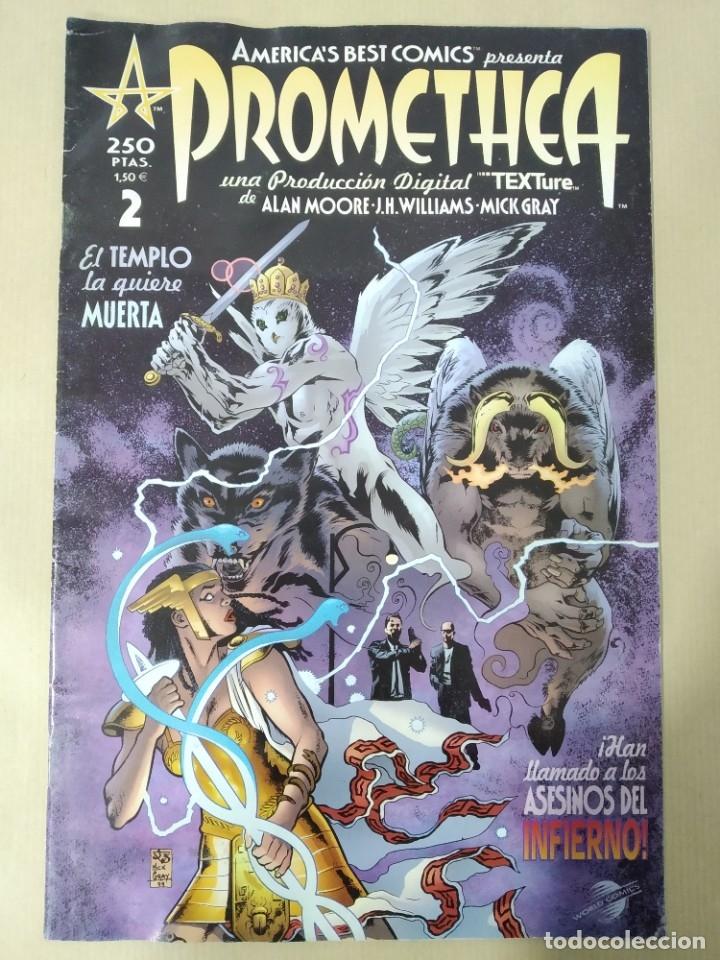 Cómics: PROMETHEA -EL TEMPLO LA QUIERE MUERTA Nº 2- / PROMETHEA -ATACADA Nº 11- WORLD CÓMICS - Foto 2 - 178645756