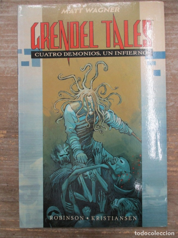 GRENDEL TALES - CUATRO DEMONIOS, UN INFIERNO - MATT WAGNER - PLANETA DEAGOSTINI (Tebeos y Comics - Planeta)