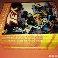 Cómics: BIBLIOTECA GRANDES DEL COMIC. TEX. COMPLETA DOCE TOMITOS. PLANETA BONELLI COMICS. Lote 178956097