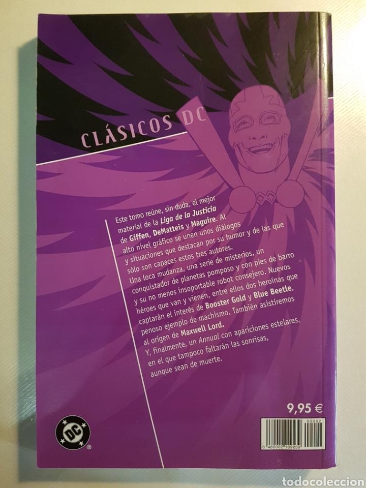 Cómics: CLASICOS DC JLA JLE TOMOS 1 Y 2 PLANETA DE AGOSTINI - Foto 3 - 179017013