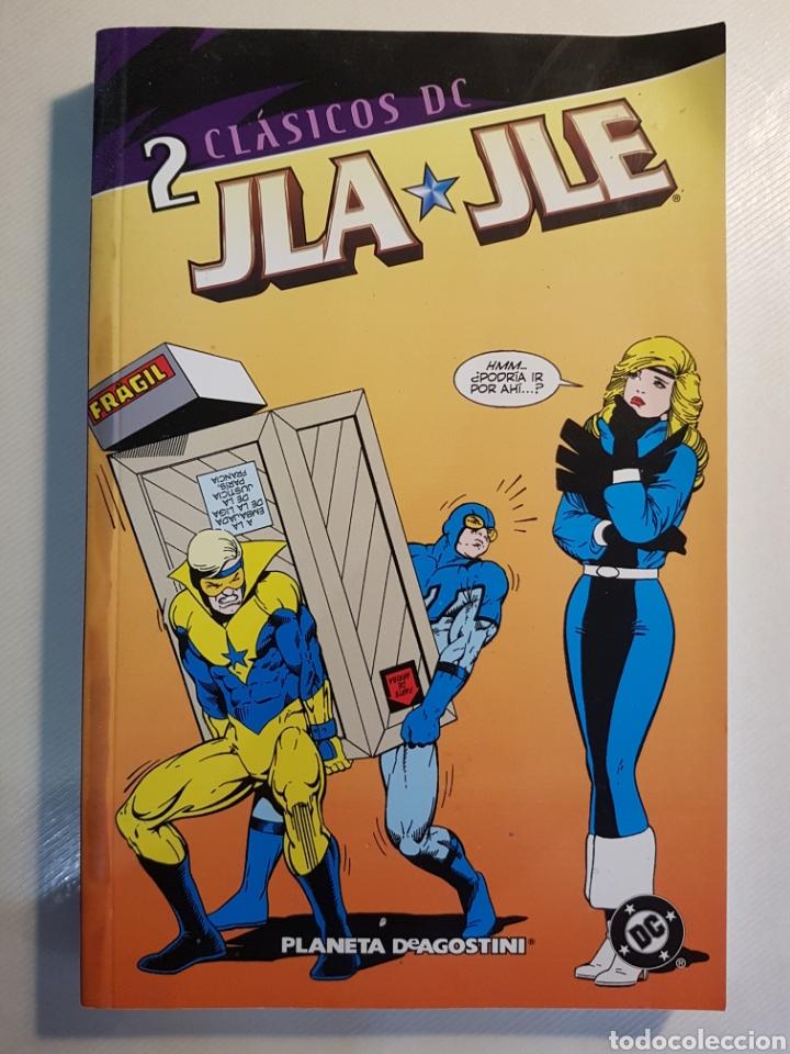 Cómics: CLASICOS DC JLA JLE TOMOS 1 Y 2 PLANETA DE AGOSTINI - Foto 4 - 179017013