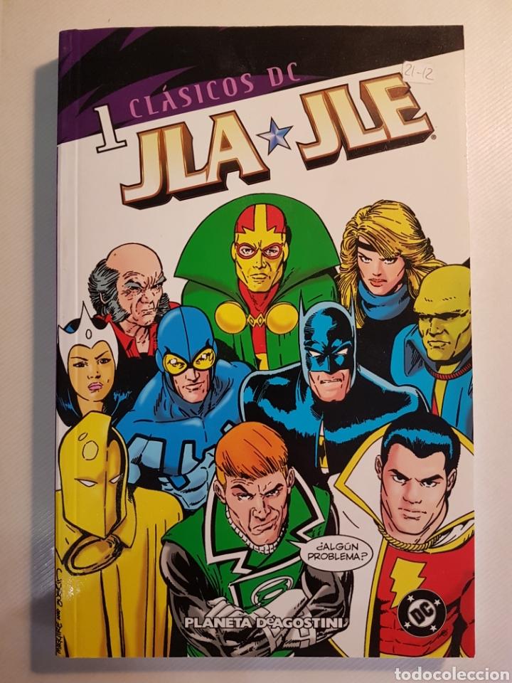 CLASICOS DC JLA JLE TOMOS 1 Y 2 PLANETA DE AGOSTINI (Tebeos y Comics - Planeta)