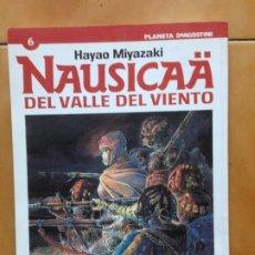 Cómics: NAUSICAA DEL VALLE DEL VIENTO TOMO 6 DE HAYAO MIYAZAKI ( STUDIO GHIBLI ) - PLANETA DEAGOSTINI 2001. Lote 179030176