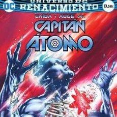 Cómics: CAÍDA Y AUGE DEL CAPITÁN ÁTOMO. RENACIMIENTO ECC DC COMICS. Lote 179061713