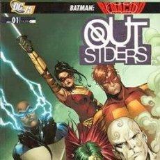 Cómics: OUTSIDERS VOL 3 PLANETA COMPLETA 2 TOMOS 2010 - LAS PROFUNDIDADES Y LA NOCHE MÁS OSCURA. Lote 179070437