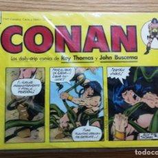Cómics: CONAN TIRAS DIARIAS DAILY-STRIP EDITORIAL PLANETA-DEAGOSTIN COMPLETA . Lote 179134246