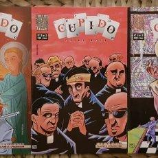 Cómics: CUPIDO. SERIE LIMITADA DE 3 COMICS. PLANETA - LABERINTO 1997. Lote 179170155