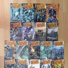 Cómics: OUT THERE DE HUMBERTO RAMOS. COLECCIÓN COMPLETA DE 18 COMICS. WORLD COMICS 2002. Lote 179175687