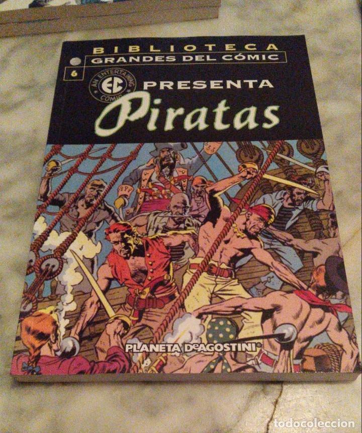 Cómics: EC Presenta nºs 3 4 5 y 6 - Ases del cielo, Periodistas, Urgencias y Piratas - Foto 9 - 179215976
