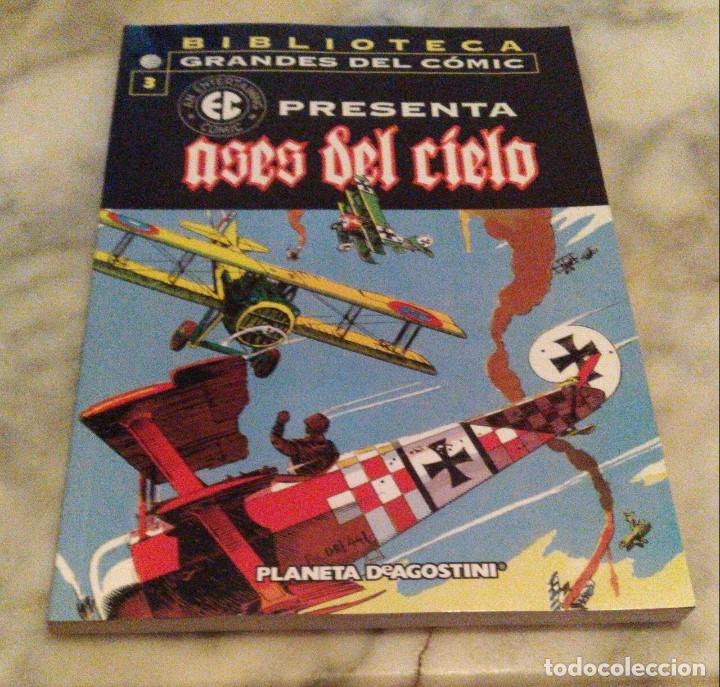 Cómics: EC Presenta nºs 3 4 5 y 6 - Ases del cielo, Periodistas, Urgencias y Piratas - Foto 12 - 179215976