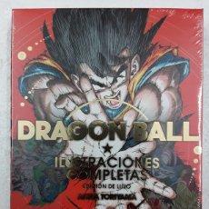 Cómics: DRAGON BALL. ILUSTRACIONES COMPLETAS. EDICIÓN DE LUJO - AKIRA TORIYAMA - PLANETA CÓMIC. Lote 179224330