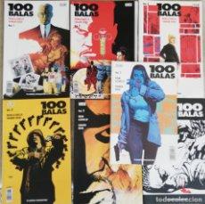Cómics: 100 BALAS 1,2,3,7,8,9,10. Lote 179336570