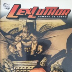 Cómics: LEX LUTHOR HOMBRE DE ACERO BRIAN AZZARELLO LEE BEMEJO. Lote 179336856