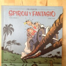 Cómics: SPIROU Y FANTASIO VOLUMEN 1. Lote 180042197