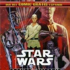 Cómics: STAR WARS AGENTE DEL IMPERIO / STAR WARS JEDI EL LADO OSCURO (DIA DEL COMIC GRATIS ESPAÑOL) PLANETA. Lote 180186993