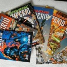 Cómics: COMIC STAR WARS: IMPERIO - COMPLETA, 7 VOLUMENES; PLANETA DEAGOSTINI. Lote 180187083