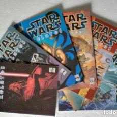 Cómics: COMIC STAR WARS: RELATOS - LOTE CON LOS VOLUMENES 1, 2, 3, 4, 5, 7 Y 8; PLANETA DEAGOSTINI. Lote 180187306