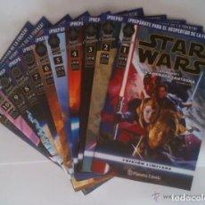 Cómics: COMIC STAR WARS: SAGA COMPLETA, 11 COMICS CON LOS EPISODIOS I, II, III, IV, V Y VI - ED. PLANETA. Lote 180187445