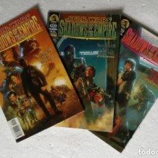 Cómics: COMIC STAR WARS: SOMBRAS DEL IMPERIO - COMPLETA, 3 NUMEROS + CARPETA ARCHIVADOR; NORMA EDITORIAL. Lote 180187606
