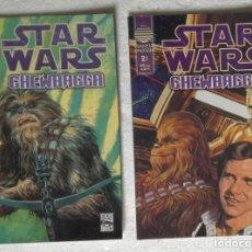 Cómics: COMIC STAR WARS: CHEWBACCA - COMPLETA, 2 NUMEROS; PLANETA DEAGOSTINI. Lote 180190267