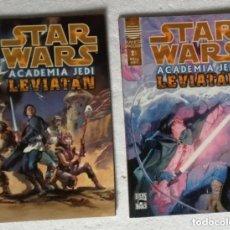 Cómics: COMIC STAR WARS: ACADEMIA JEDI. LEVIATAN - COMPLETA, 2 NUMEROS; PLANETA DEAGOSTINI. Lote 180190448