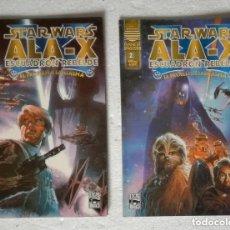 Cómics: COMIC STAR WARS: ALA-X ESCUADRON REBELDE. EL PROBLEMA FANTASMA - COMPLETA, 2 NUMEROS; PLANETA DEAGOS. Lote 180190516