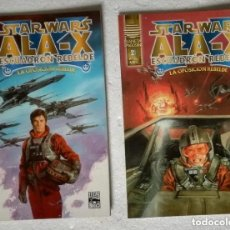 Cómics: COMIC STAR WARS: ALA-X ESCUADRON REBELDE. LA OPOSICION REBELDE - COMPLETA, 2 NUMEROS; PLANETA DEAGOS. Lote 180190606