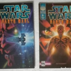 Cómics: COMIC STAR WARS: DARTH MAUL - COMPLETA, 2 NUMEROS; PLANETA DEAGOSTINI. Lote 180190803