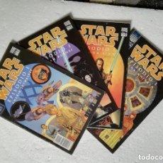 Cómics: COMIC STAR WARS: EPISODIO I - COMPLETA, 4 NUMEROS; PLANETA DEAGOSTINI. Lote 180190933
