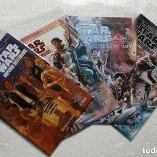 Cómics: COMIC STAR WARS: IMPERIO DESTRUIDO - PLANETA COMIC: LOTE DE 4 NUMEROS - COMPLETO. Lote 180191086